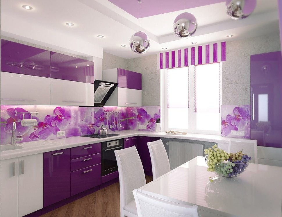 Какие цвета и их комбинации больше всего подходят для кухни