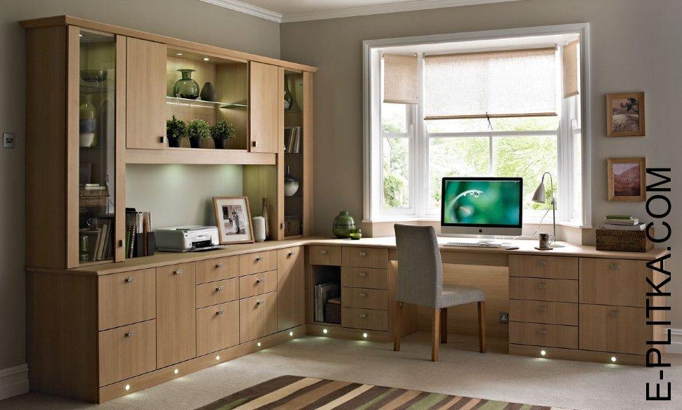 мебель для кабинета в квартире фото
